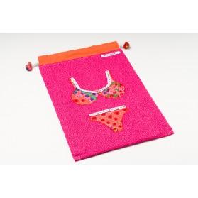 Bolsa para ropa interior bikini naranja
